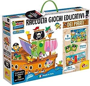 Lisciani Giochi 72743 - Juego Educativo del veliero de los Piratas para Jugar y Aprender