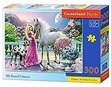 CASTORLAND My Friend Unicorn 300 pcs 300pieza(s) - Rompecabezas (Jigsaw Puzzle, Hada, Niños, Niño/niña, 8 año(s), Interior)