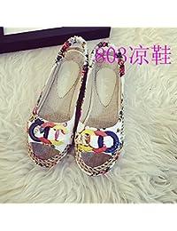 Donyyyy La mujer solo zapatos zapatos planos, de fondo plano, mujer zapatos, verano caluroso y el verano,803,40,