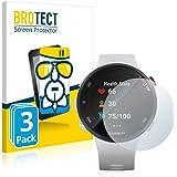 BROTECT Glas Screenprotector compatibel met Garmin Forerunner 45S (3 Stuks) - Beschermglas met 9H hardheid