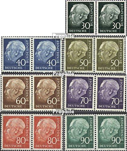 RFA (FR.Allemagne) 259x 259x 259x wp-265x wp (complète.Edition.) horizontale Couple 1956 heuss (Timbres pour les collectionneurs) 042a6e