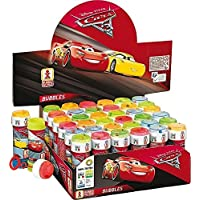 12 x Disney Cars 3 Bubble Tubos