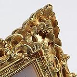 Giftgarden Bilderrahmen 10x15cm Barock golden viereckig golden Geschenke Freunde - 7