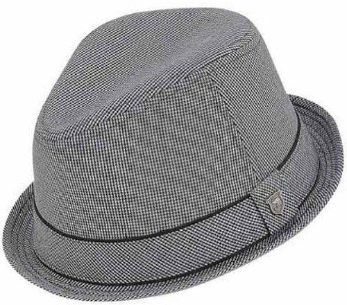 Peter Grimm Duke Chapeau Fedora/bord à rayures (Noir) Noir - Noir