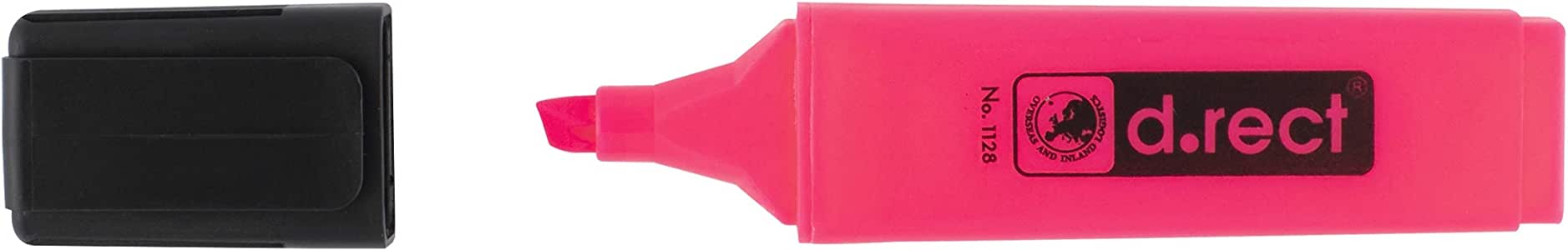 Evidenziatore D.RECT 1128 rosa
