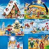 PLAYMOBIL Weihnachten 2018 9493 9494 9495 9496 9497 9498 komplett Set