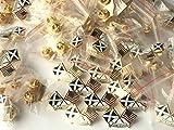 Sac de 50 Écosse & amérique USA amitié Nouveau Design Émail Pins broche badge