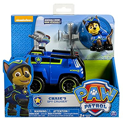 Paw Patrol Basic Vehicle - Chase's Spy Cruiser