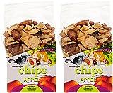 ESVE Friandise pour Petits Animaux Chips Po 80 g - Lot de 2