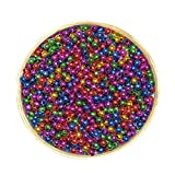#8: Asianhobbycrafts Colourful Shining Beads Round : 50 Gms (multi)
