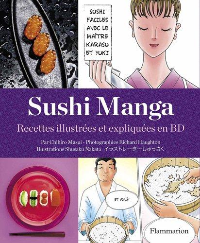 Sushi manga - sushis faciles avec matre karasu et yuki