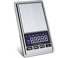 Bilancia di Precisione 0 01g   Mini Bilancia Milligrammo Precisione Digitale Scale 500g x 0 01g  Bilancia Ultraleggero con Display LCD per Pesa Cucina Gioielli Bilance Alimenti