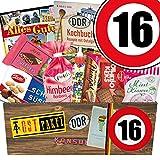 DDR Suessigkeiten-Box | Ostpaket | Zahl 16 | GeburtstagsGeschenke Mama