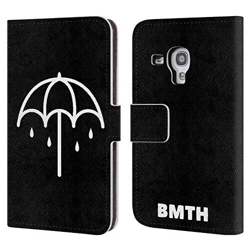 Offizielle Bring Me The Horizon Regenschirm Kunst Brieftasche Handyhülle aus Leder für...