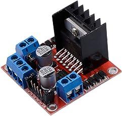Tinxy L298N Motor Drive Controller Board Module Dual H Bridge DC Stepper For Arduino