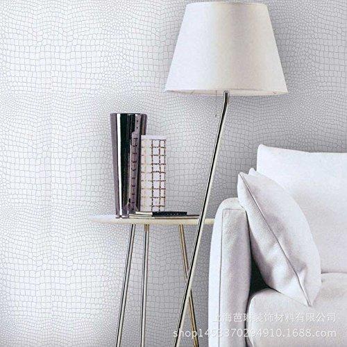 MDDW-Premium-moderne minimalistische Mode, echte Alligator Haut Textur Tapete Wohnzimmer Esszimmer Simulation Papiertapeten (Alligator Handtuch)