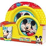 Hasbro Set desayuno polipropileno Mickey Mouse