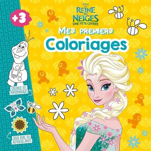 La Reine des Neiges : Mes premiers coloriages