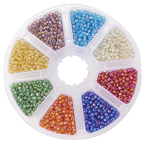 pandahall-1-box-rainbow-mixed-color-8-0-glass-seed-loose-spacer-beads-3mm-hole-08mm-about-3600pcs-bo