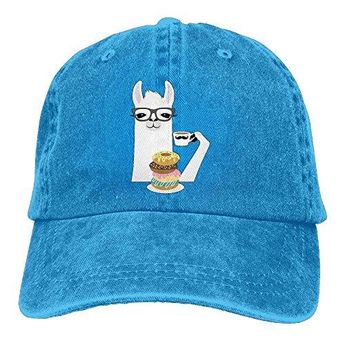 Lightweight Baseball Cap Llama Donut Washed Twill Cotton Running Travel Dad Hats