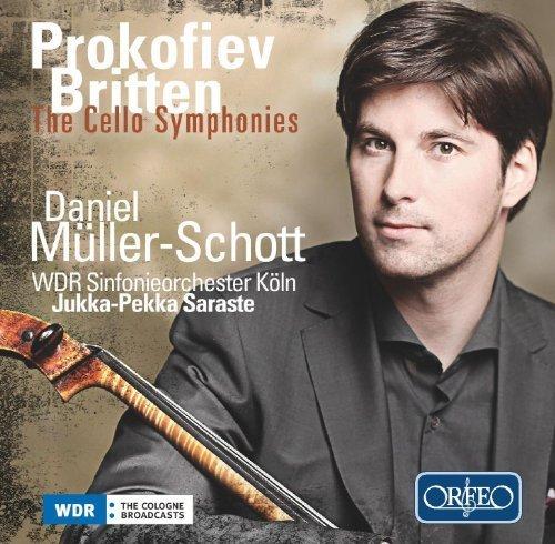 Prokofiev; Britten: The Cello Symphonies by Mueller-Schott (2013-02-26) (Prokofiev 2 Symphony)