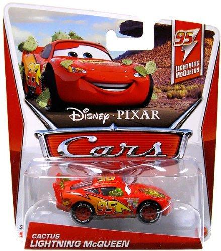 Image of Disney Pixar Cars 2 Cactus Lightning McQueen # 95