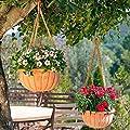 Gärtner Pötschke Terracotta-Hängeschalen Venezia, 2er-Set von Gärtner Pötschke bei Du und dein Garten