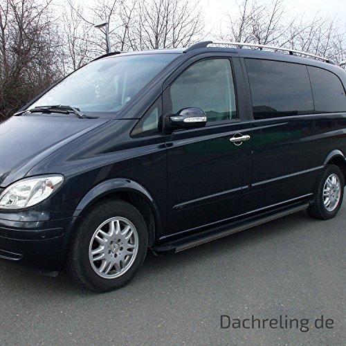 Opel Vivaro L1H1 kurz ab Baujahr 2014 Dachrelinge in schwarz mit TÜV und ABE