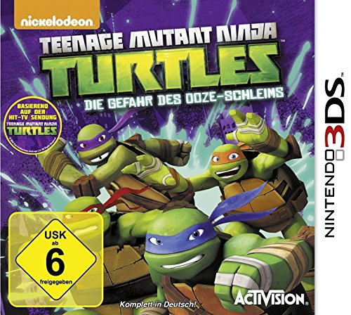 Teenage Mutant Ninja Turtles - Die Gefahr des Ooze-Schleims - [Nintendo (Ninja Mutant Turtles Nintendo Teenage)