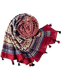 Ouneed® Bohême Echarpe Rectangle100 * 180cm en Cotton