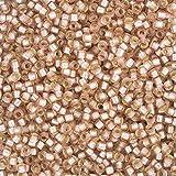 Toho Perlen Größe 8Seed Bead Silber gefüttert matt Rosaline 10g