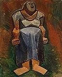 Das Museum Outlet–farn-woman, gespannte Leinwand Galerie verpackt. 50,8x 71,1cm