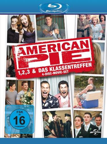 American Pie 1, 2, 3 & Das Klassentreffen [Blu-ray] [Limited Edition] [4 Blu-rays] (Box Pie)