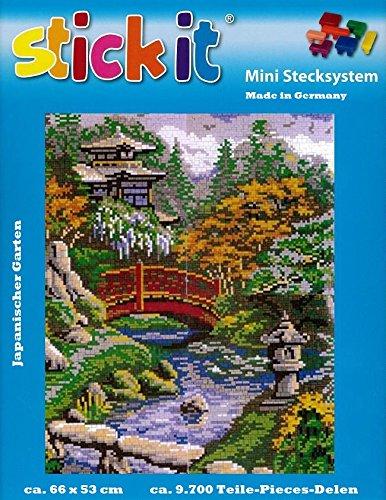 stickit Mini Stecksystem Japanischer Garten ca. 9.700 Teile Nr. 41237 (Bausteine Japanische)