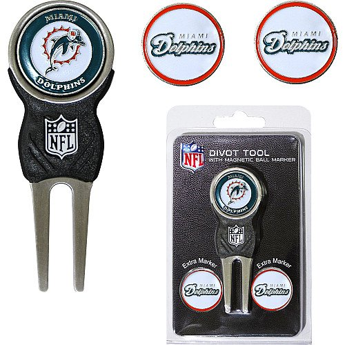 miami-dolphins-nfl-divot-tool-w-three-double-sided-ball-markers