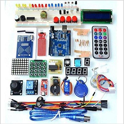 Kit komplett Anfänger RFID für Arduino UNO R3aktualisiert Sensoren Widerstände