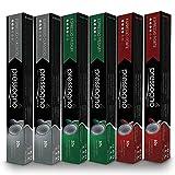 PRESSOGNO 60 Pack NESPRESSO Compatible (OriginalLine) Coffee Capsules