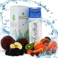 InfusaFruit Fruit Infuser Water Bottle (Blue)