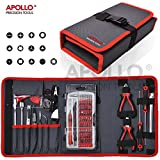 Apollo 84pc Precision Electronics Screwdriver Set with Most Reached for Electronic Device Repair Tools for IPhone, Smartphone, Laptop, Computers, Tablets, PS4,Games Consoles in Durable Storage Case