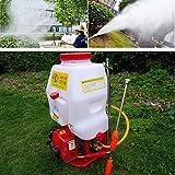 Pulverizador mochila 20L Pulverizador a presión Fertilizante Pulverizador Jardín...
