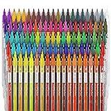 ARTEZA TwiMarker | 100 Bunte Marker mit Doppelspitze | Feine 0,4 mm Spitze und Pinselspitze | Wasserbasierter Tinte | Pinselstift und Fineliner zum Schreiben und Malen