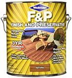 Best Exterior Deck Paint - WOLMANTM F&P® Finish And Preservative for Exterior Wood Review