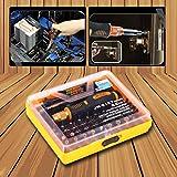 OUTAD Werkzeug Feinmechanik Präzisions-Schraubenzieher Torx Bit-Set Reparatur Werkzeug 53tlg.