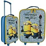 Kindertrolley Minions 14 Liter Rucksack Kinderrucksack Trolley Reisekoffer Koffer Schultasche