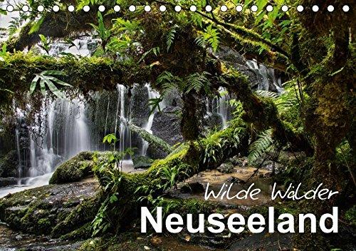 Neuseeland - Wilde Wälder (Tischkalender 2018 DIN A5 quer): Tauchen Sie ein in die Urwälder Neuseelands! (Monatskalender, 14 Seiten ) (CALVENDO Natur) [Kalender] [Apr 01, 2017] BÖHME, Ferry