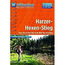 WF Harzer-Hexen-Stieg: Quer durch den Harz und über den Brocken, 100 km, Wanderführer und Karte 1 : 35 000, wasserfest, GPS-TRacks-Download