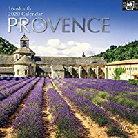 The Gifted Stationery 2020 Wall Calendar - Provence (GSC19616)
