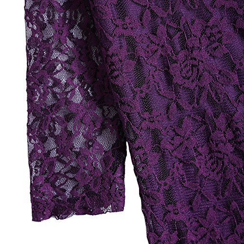 CharMma Damen Kleid Violett