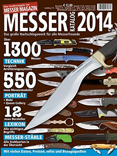 Messer Katalog 2014: Das große Nachschlagewerk für alle Messerfreunde