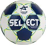 Select Ultimate Replica Ballon de Handball CL pour Femme, Bleu/Blanc/Jaune Fluo, 0, 1670847205